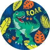 Dinosaur Party Plates - 8 Pack