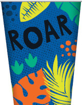 Dinosaur Party Cups - 8 Pack
