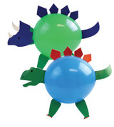 Dinosaur Party Balloon Decorating Kit - 4 Pack