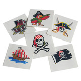 Pirate Tattoos  - Set of 6