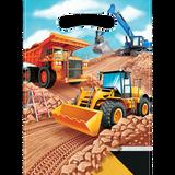 Big Dig Construction Loot Bags  - 8 Pack