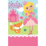 Woodland Princess  Plastic Tablecover - 1.37m x 2.43m