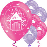 Woodland Princess 27.5 cm Latex Balloons - 6 Pack