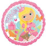 Woodland Princess Happy Birthday 43 cm Foil Balloon
