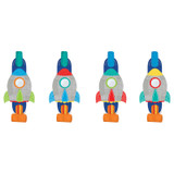 Blast Off Birthday Blowouts - 8 Pack