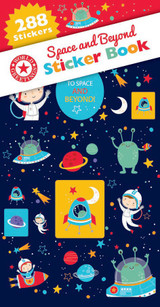 Space and Beyond Sticker Book - 12 Sheets