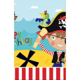 Little Pirate Plastic Tablecover - 137cm x 243cm