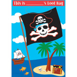 Pirate Party Loot Bags - 8 Pack