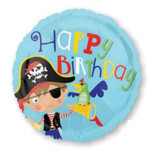 Little Pirate 43cm Foil Balloon