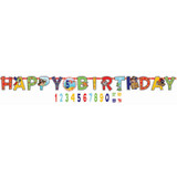Little Pirate Jumbo Add-An-Age Banner Kit