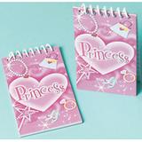 Princess Note Pads - 12 pack