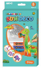 Sun Deco Dinosaur Suncatcher Kit
