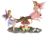 Fairies on Seesaw - 18cm