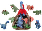 15cm Dinosaur Plush in 6 Assorted Designs