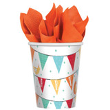 Barnyard Farm Animal Birthday Paper Cups - 8 Pack