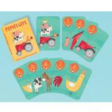 Barnyard Farm Animal Birthday Memory Game Favours - 8 Pack