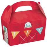 Barnyard Farm Animal Birthday Treat Boxes - 8 Pack