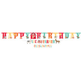 Barnyard Farm Animal Birthday Jumbo Happy Birthday Banner