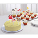 Barnyard Farm Animal Birthday Cake Topper Kit  - 12 Pack