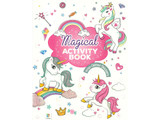 Magical Activity Book with Glitter Stickers