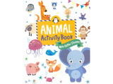 Animal Activity Book with Glitter Stickers