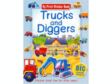 My First Sticker Book - Trucks and Diggers