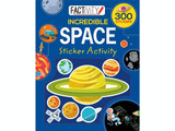 Factivity Incredible Space Sticker Activity