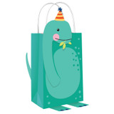 Dino-Mite Dinosaur Create Your Own Kraft Bags - 8 Pack