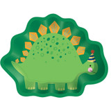 Dino-Mite Dinosaur Shaped Plate - 8 Pack