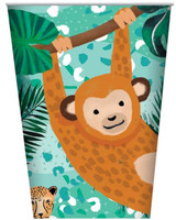 Jungle Party Cups - 8 Pack