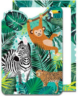 Jungle Party Invitations - 8 Pack