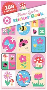 Flower Garden Sticker Book - 12 Sheets