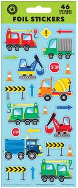 Trucks Foil Sticker Sheet - 46 Stickers