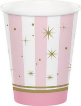 Twinkles Toes Ballerina Paper Cups - 8 Pack