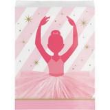 Twinkles Toes Ballerina Paper Treat Bags - 10 Pack