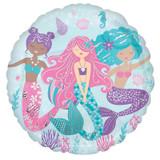 Shimmering Mermaid 43cm Foil Balloon