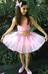 Jewelled Tutu and Top - WHITE