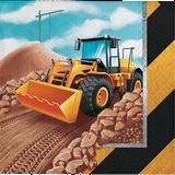 Big Dig Construction Beverage Napkins - 16 Pack
