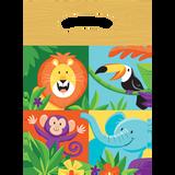 Jungle Safari Loot Bags - 8 Pack