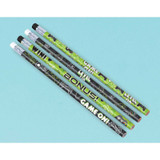 Level up Gamer Pencil Favours - 8 Pack