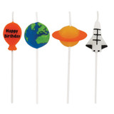 Space Blast Pick Candles - 4 Pack