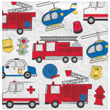 First Responders Emergency Services Lunch Napkins - 16 Pack