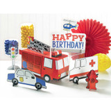 First Responders Emergency Services Table Decorating Kit - 6 Piece