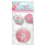 Magical Unicorn Cupcake Cases and Picks - Pack of 24