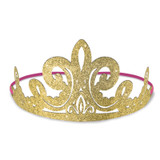 Disney Princess Once Upon a Time Glitter Paper Tiaras - 8 Pack
