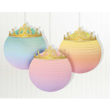 Disney Princess Once Upon a Time Paper Lanterns - 3 Pack