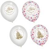 Disney Princess Once Upon a Time Confetti Balloons - 3 Pack