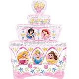 Shape Disney Princess Birthday Cake Foil Balloon (53cm x 71cm)