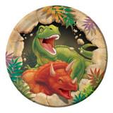 Dino Blast Dinosaur 17.4 cm Luncheon Plates - 8 Pack