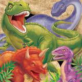 Dino Blast Dinosaur Luncheon Napkins - 16 Pack